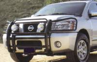 Grille/Brush Guards - Armada Grille Brush Guards - Armada Polished Stainless Grille/Brush Guard