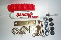 Steering Upgrades & Alignment Products - Steering Stabilizers - Frontier Steering Stabilizer Kit with Rancho Shock
