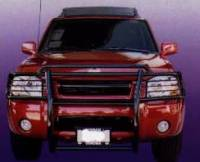Grille/Brush Guards - Frontier Grille Brush Guards - Frontier Grille/Brush Guard Black