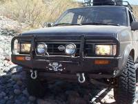 Armor - ARB Winch Mount Bull Bar - ARB - ARB Hardbody Winch Mount Bull Bar