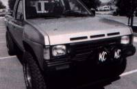 Fiberglass Body Parts - Pathfinder & Hardbody - Hardbody Fiberglass 2-Pin Hood