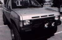 Fiberglass Body Parts - Pathfinder & Hardbody - Hardbody Fiberglass 4-Pin Vented Hood
