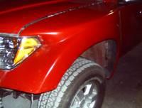 Fiberglass Body Parts - Frontier - Frontier Fiberglass Front Fenders