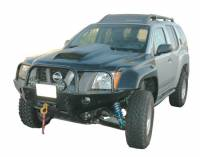 Fiberglass Body Parts - Xterra - Xterra Fiberglass 2-Pin Hood With Scoop