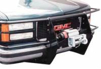 Armor - Winch Mount Grille/Brush Guards - Heavy Duty Winch Mount Grille Guard