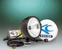 "HID Lights - Long Range Lights - 6"" HID Black Long Range Light"