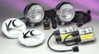 "HID Lights - Flood Lights - 5"" HID Chrome Flood Light Kit"