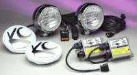 """HID Lights - Flood Lights - 5"""" HID Chrome Flood Light Kit"""