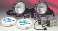 """HID Lights - Flood Lights - 6"""" HID Stainless Steel Flood Light Kit"""