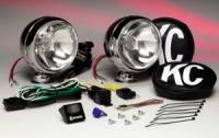 "KC Hi-Lites 50 Series Lights - Long Range Lights - 5"" Chrome Long Range Light Kit"
