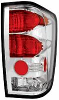 Euro Lights - Tail Lights - Chrome Euro Tail Lights