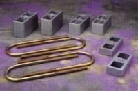 "Lowering Components - Hardbody - 2"" Rear Lowering Block Kit"
