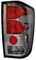 Euro Lights - Tail Lights - Platinum Smoke Euro Tail Lights