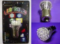 LED Lights - 720 - Economy LED Red or Amber Replacement Bulb