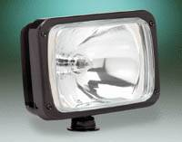 KC Hi-Lites - 69 Series - Black Long Range Light