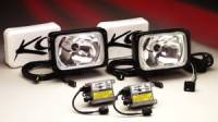 "HID Lights - Long Range Lights - 6""x9"" Black HID Long Range Light System"