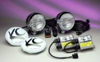 """HID Lights - Driving Lights - 5"""" HID Chrome Driving Light System"""