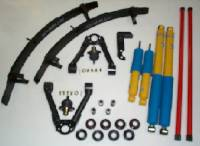 1998-2004 Frontier Suspension Lifts & Packages - Suspension Package With 3 Leaf Add A Leaf Pack - Deluxe Suspension Pkg W/3 Leaf Add A Leaf Pack & Bilstein Shocks