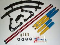 Hardbody - Suspension Packages - Suspension Package With 3 Leaf Add A Leaf & Bilstein Shocks