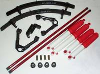 Hardbody - Suspension Packages - Suspension Package With 3 Leaf Add A Leaf & RS9000XL Shocks