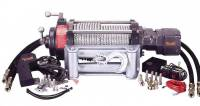 Mile Marker Winches - Hydraulic Winches - Mile Marker 10,500 Pound Hydraulic Winch With Adapter Kit