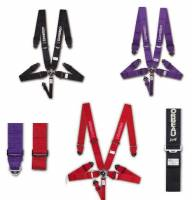 Seats and Seating Extras - Harness Belts & Pads - 3 Inch Competition Harness Belts