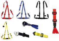 Seats and Seating Extras - Harness Belts & Pads - 2 Inch Double Release Harness Belts