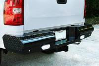 Rear Bumpers - Titan - Titan Black Steel Rear Bumper