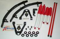 1998-2004 Frontier Suspension Lifts & Packages - Suspension Package With 3 Leaf Add A Leaf Pack - Deluxe Suspension Pkg W/3 Leaf Add A Leaf Pack & RS9000XL Shocks