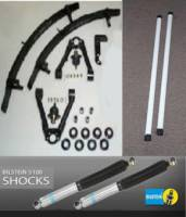 2000-2004 Xterra Suspension Lifts & Packages - Suspension Packages With 3 Leaf Add A Leaf Pack - Deluxe Susp Pkg W/3 Leaf Add A Leaf Pack & 5100 Bilstein Shocks