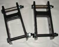 Rear Suspension Components - Hardbody - Hardbody Adjustable Lift Shackles