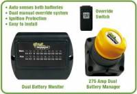 Batteries & Electrical Equipment - Battery Products - Motorized 275 Amp Dual Battery Kit