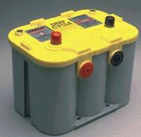 Batteries & Electrical Equipment - Optima Batteries & Accessories - Optima Yellow Top Deep Cycle Battery