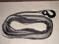 Mile Marker Winch Accessories - Synthetic Winch Rope - WH-4 Roller Fairlead