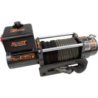 Mile Marker Winches - 6,000-9,000 Pound Electric Winches - Mile Marker SEC8 Scout 8,000 lb Winch