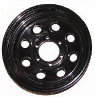 "Wheels & Tires - Steel Wheels - 16"" x 8"" Black Steel Wheels"