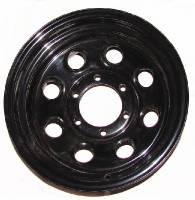 """Wheels & Tires - Steel Wheels - 16"""" x 8"""" Black Steel Wheels"""