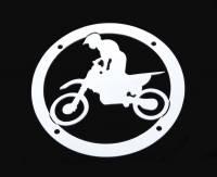 Accessories - Billet Accessories - MX Bike Universal Grille Logo