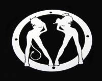 Accessories - Billet Accessories - Angel/Devil Universal Grille Logo