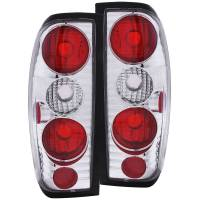 Frontier Chrome Tail lights