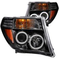 Lighting & Light Accessories - LED Headlights - PROJECTOR HEADLIGHTS BLACK CLEAR