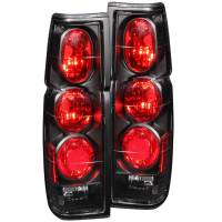 Euro Lights - Tail Lights - HARDBODY BLACK TAIL LIGHTS