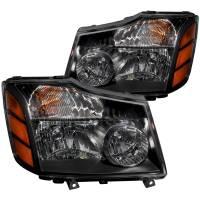 Euro Lights - Headlights - CRYSTAL HEADLIGHTS BLACK