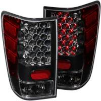 Lighting & Light Accessories - LED Taillights - L.E.D TAIL LIGHTS BLACK
