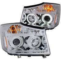 PROJECTOR HEADLIGHTS CHROME w/ HALO (CCFL) - Image 2