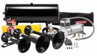Horns - Complete Air Horn Kits - PROBLASTER COMPLETE ABS TRIPLE TRAIN HORN PACKAGE