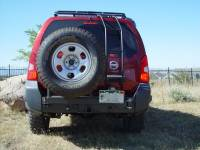 Rear Bumpers - Xterra - Xterra Steel Rear Bumper