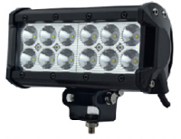 "Lighting & Light Accessories - Light Bars - 7"" Spot Beam Double Row Light Bar"