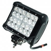 "6.5"" Quad Row 72 Watt Flood Post Mount Light Bar - Image 3"