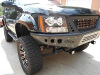 Armor - FRONT BUMPERS - CHEVY AVALANCHE/SUBURBAN/TAHOE STEALTH FRONT BUMPER WITH INTEGRATED GRILLE